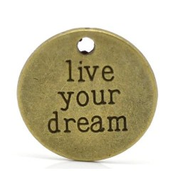 Charm - live your dream - 20 mm