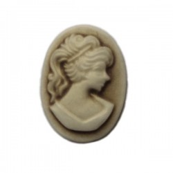 Cameo - resin - 18 mm