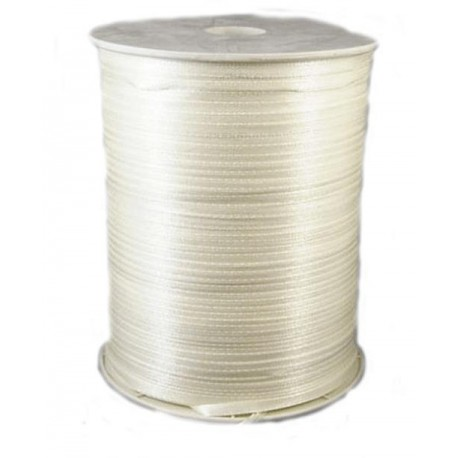 Satinband 3 mm - creme