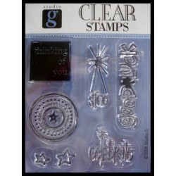 Clearstamps från Studio G - Good Luck