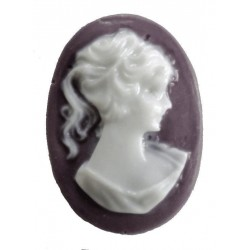 Cameo - resin - 25 mm