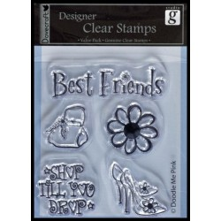 Clearstamps från Studio G - Best Friends
