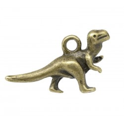 Charm - dinosaurie - 22 mm