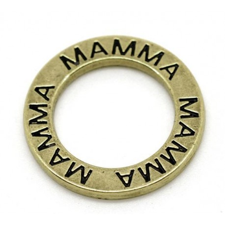 Ring med text - mamma